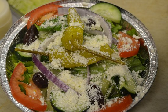 North Augusta, ساوث كارولينا: Greek salad ToGo