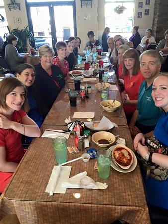 North Augusta, ساوث كارولينا: Large parties love Antonio's Italian Eatery