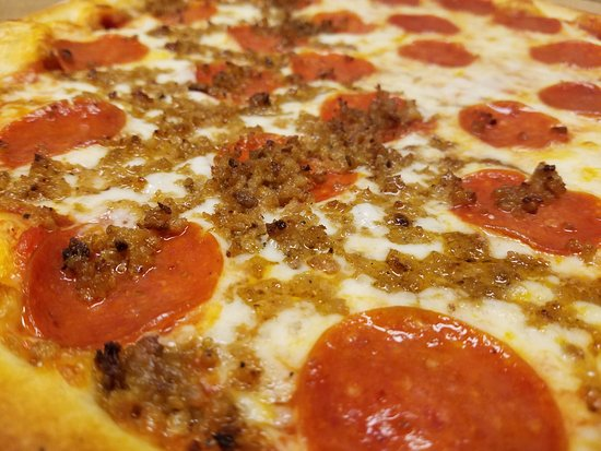 North Augusta, SC: Pepperoni and Sausage Pizza