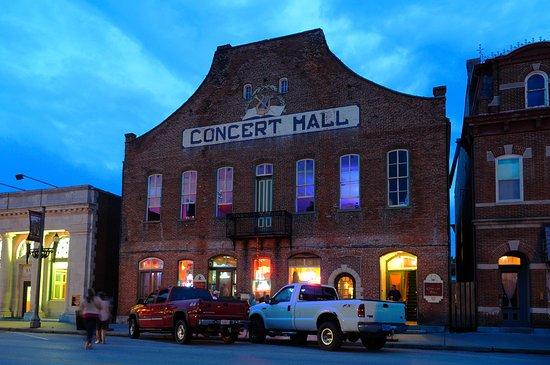 Historic Concert Hall and Barrel