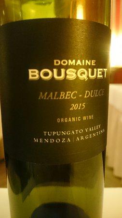 Le Mystique - Relais & Chateaux: matching wine