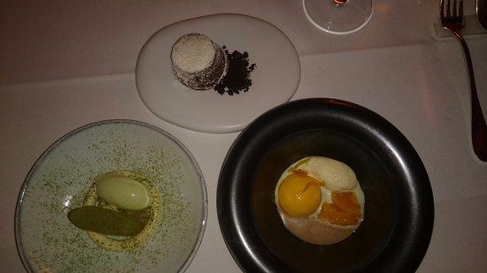 Le Mystique - Relais & Chateaux: desserts