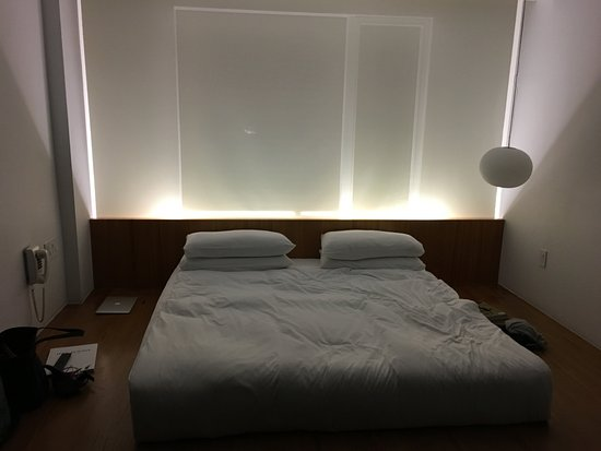 Hotel Americano: this bed is amazingly comfortable