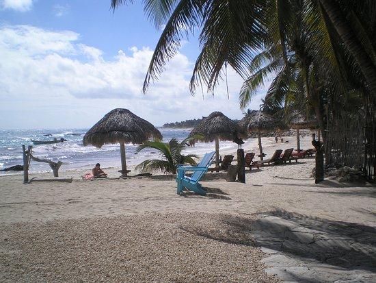 The beach at Zamas
