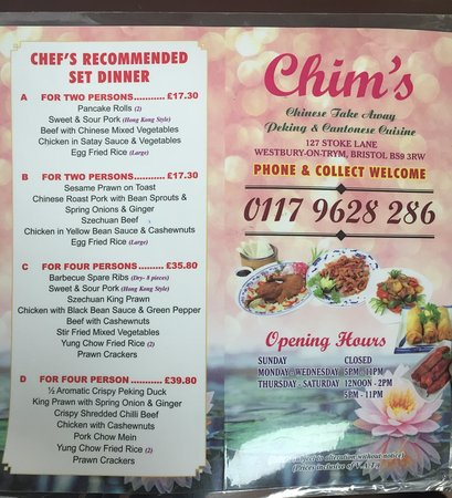 Chinese Restaurants In Bristol Uk