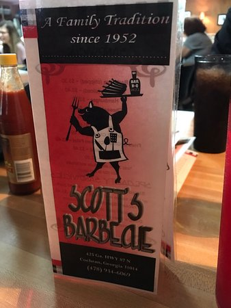 Cochran, Gürcistan: Scott's-Bar-BQ
