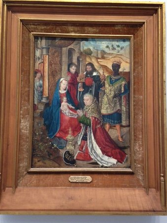 Timken Museum of Art: Nativity by St. Lucy School, 15th c.