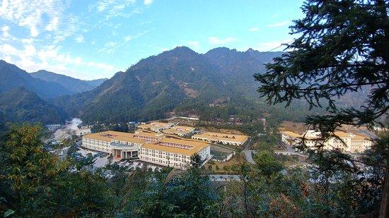 Ruyuan County, China: 南嶺國家森林公園hotel - 避暑林莊溫泉大飯店
