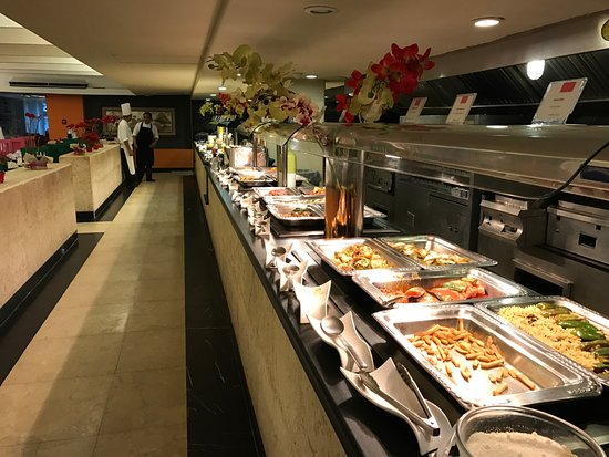 buffet de la cena picture of grand oasis palm  cancun