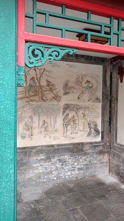 Courtyard 7: Wandmalereien