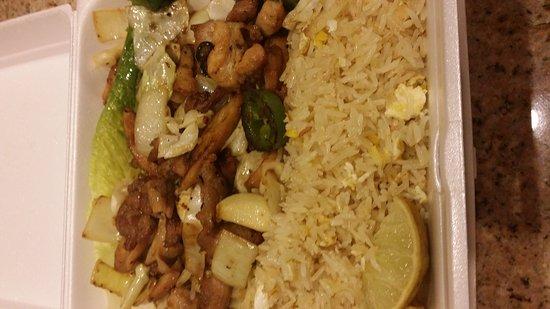 Harker Heights, TX: Chicken fried rice