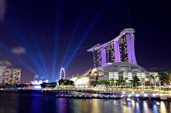 Singapore Night Sightseeing Tour med...