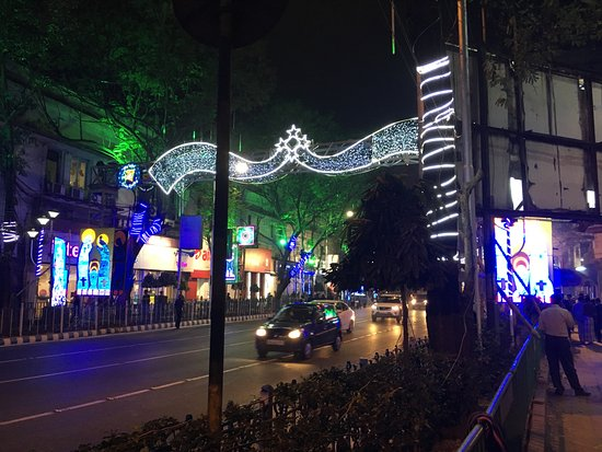 Park Street Kolkata During Christmas.Christmas Decor Picture Of Park Street Kolkata Calcutta