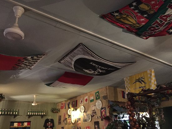 The Mad Italian: Picture of ceiling