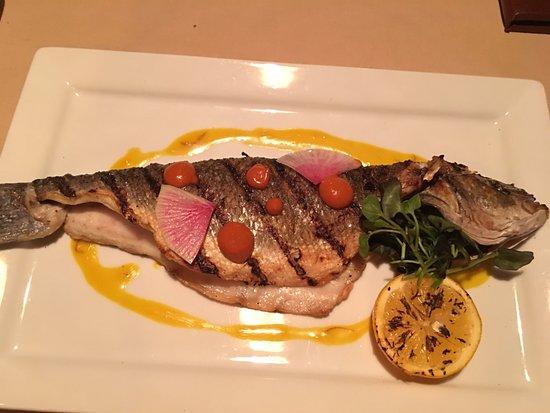 The Lakefront Restaurant: Grilled Bronzino