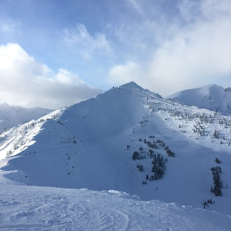 Goleen, Canadá: Skiing kicking horse
