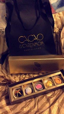 Cacao & Cardamon Chocolatiers