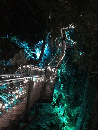 Nord-Vancouver, Canada: Capilano Suspension Bridge Park