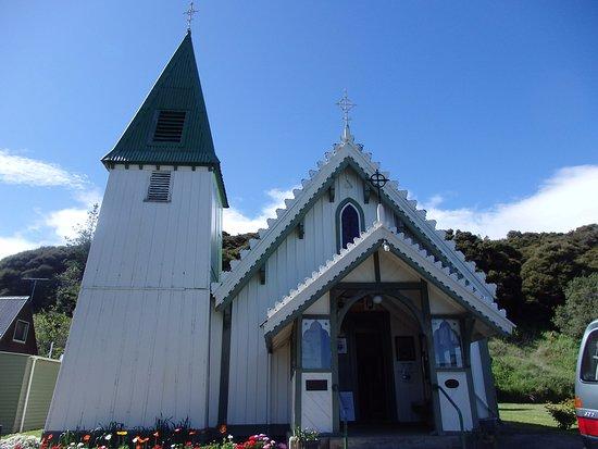 Catholic St. Patrick's Akaroa: ロマンチックな感じ