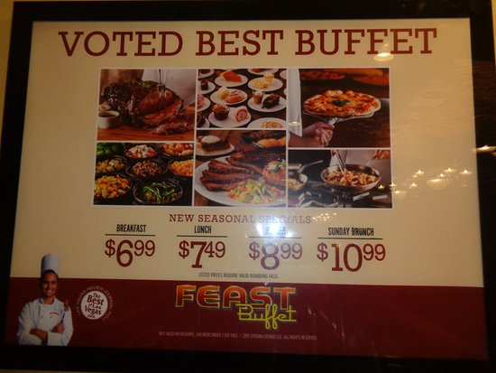 prices picture of feast buffet at palace station las vegas rh tripadvisor com