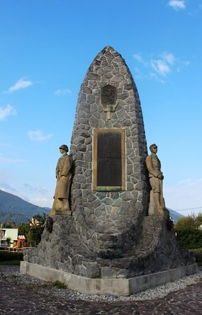 Memorial on the anniversary of the First World War