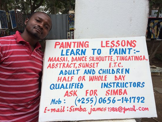 Old Boma Museum: The museum gallery offers a heap of lessons - African cuisine, painting and drumming lessons.