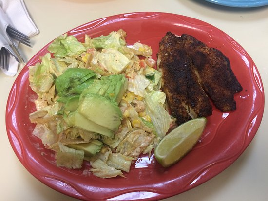 Momcorn: 300 Likes or Grilled Tilapia with Latin Salad