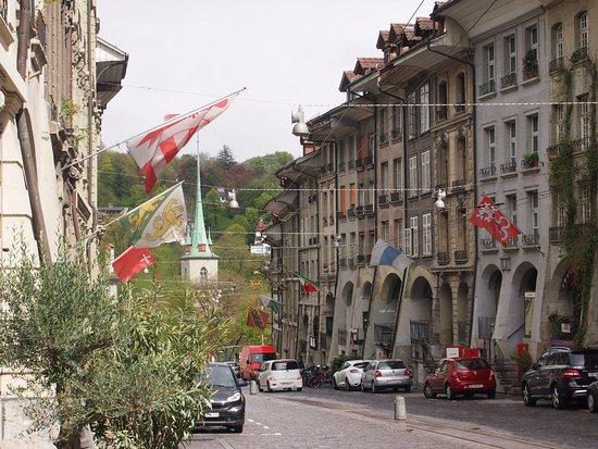 Hotel Nydeck: отель находится в здании справа