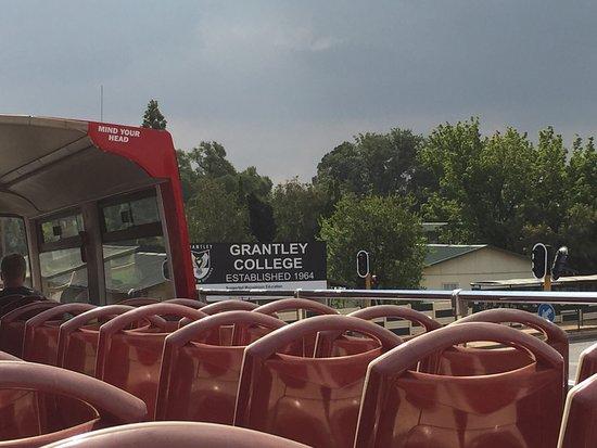 City Sightseeing Joburg: Taken from Jo'burg Sightseeing Bus