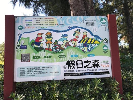 Zhunan, Miaoli: 竹南濱海森林遊憩區