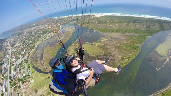 Wilderness, Sudáfrica: Paragliding over Sedgefield - great view