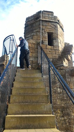 Linlithgow, UK: scala di accesso alla torre