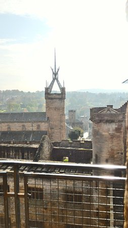 Linlithgow, UK: panorama dalla torre
