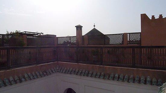 Riad Elixir: terrasse