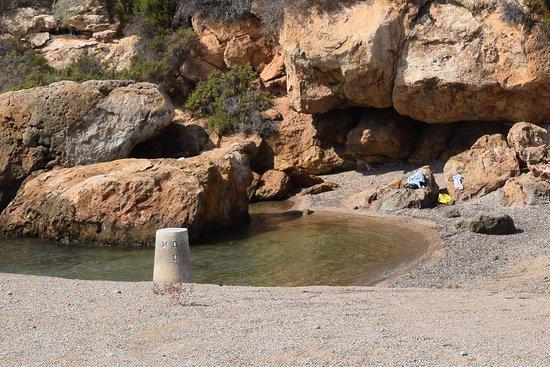 Isla Plana, Spanyol: Playa la Caleta
