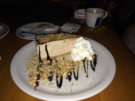 cheesckae with chocolate
