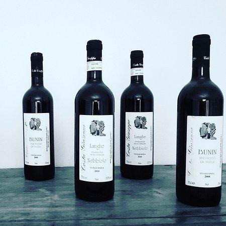 Monta, Italien: Un po delle nostre bottiglie