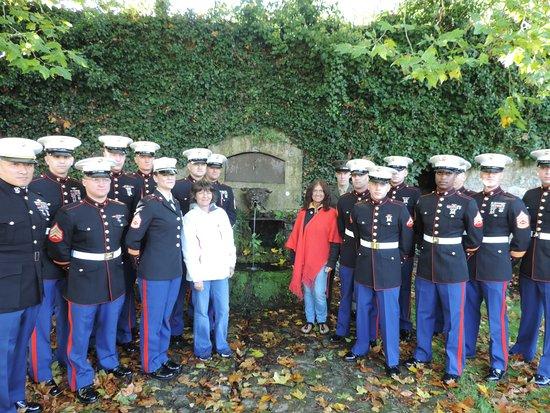 Aisne, Francia: la fontaine des marines