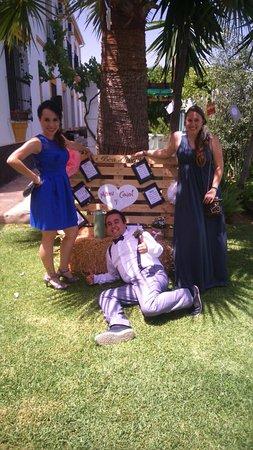 Tolox, Espagne : Detalle boda: asignacion mesas