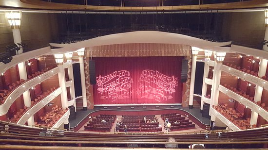 vista del palco picture of kravis center for the performing arts west palm beach tripadvisor