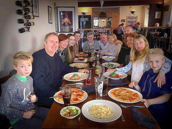 family meal picture of olive garden standish tripadvisor