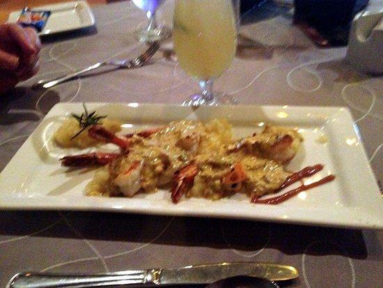 La Concha: Curry Shrimp