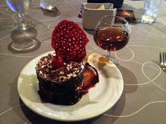 La Concha: Black Forest Cake w/ Presidente Brandy