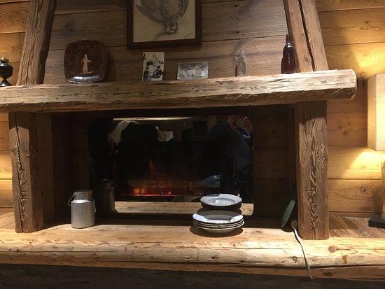 Cheminee Fausse Mais Agreable Picture Of La Ferme Des Alpes