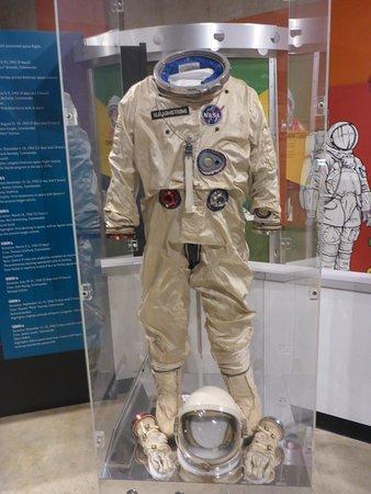 Wapakoneta, OH: Early Space Suits