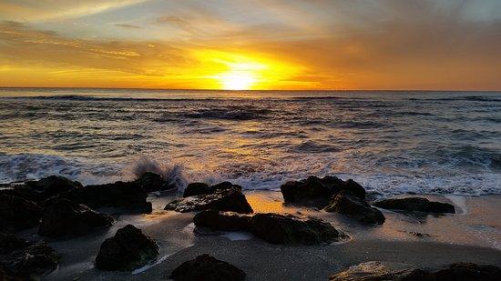Caspersen Beach: Sunset at Caspersen
