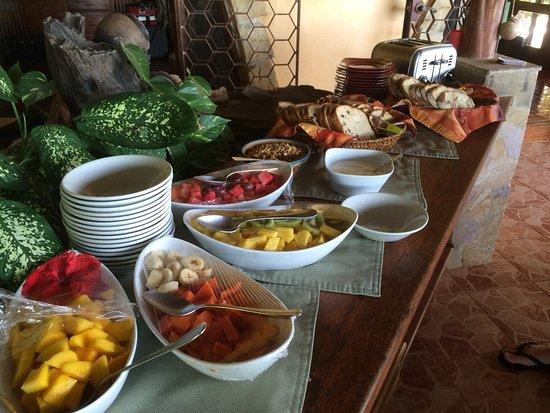 Villa Mango: Colazione fantastica