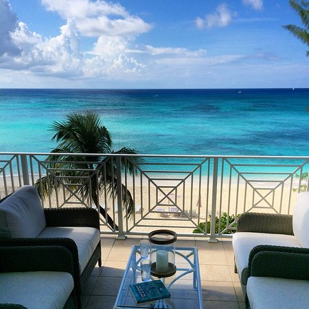 Caribbean Club: The view from our private terrace