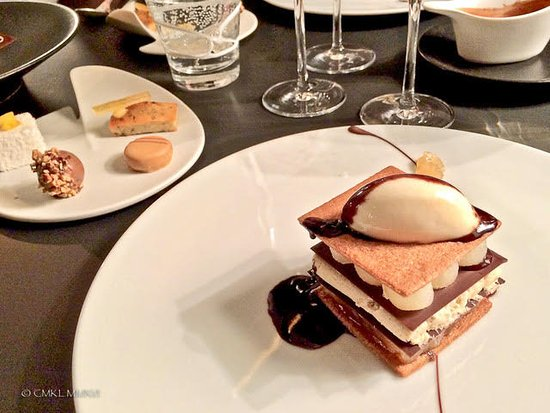 Restaurant Le Saint-James Relais & Chateaux: Poire Belle Helene