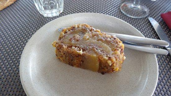 Vila do Bispo, Portugal: Gâteau aux poires et noix